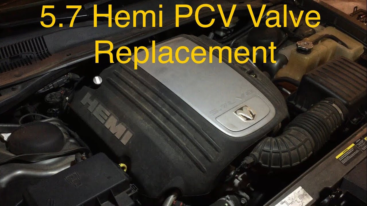 medium resolution of how to chrysler hemi 5 7 pcv valve replacement