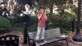 8 year old boy sing Beauty and a beat Cover