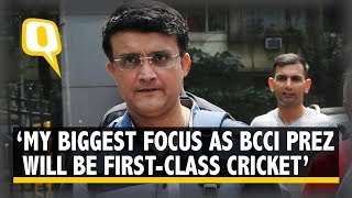 I Never Expressed My Aspirations to be BCCI President: Sourav Ganguly | The Quint