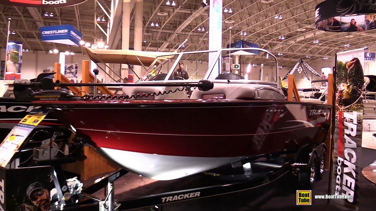 2015 Tracker Targa V18 Combo Fishing Boat