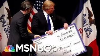 """Trump Fdn. Dissolved Found To Be A """"Little More Than A Checkbook"""" To Serve Trump 