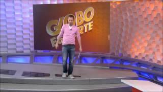 "Tiago Leifert tira onda de Valdivia no ""Globo Esporte"