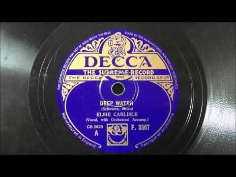 """Elsie Carlisle - """"Deep Water"""" (1933)"""