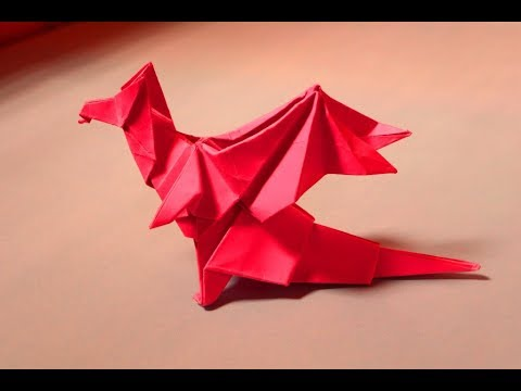 Games Of Thrones Dragon Paper Orgami Dragon Diy.Making the Orgami Dragon Paper Diy tutorial easy.
