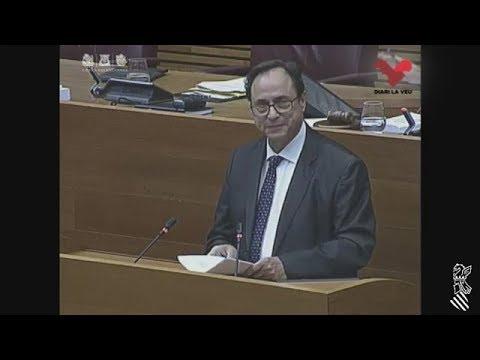 El PP xiula el conseller Soler a les Corts Valencianes