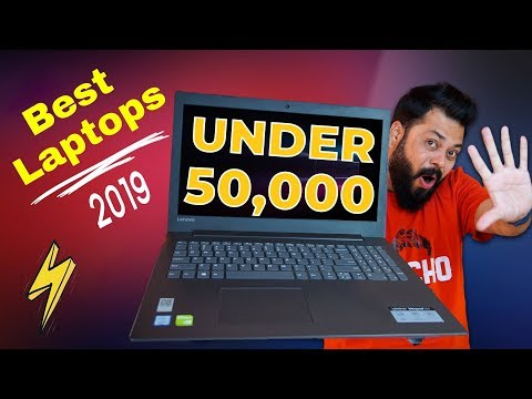 TOP 5 BEST LAPTOPS UNDER 50,000 in India 2019 ⚡ ⚡ ⚡ Budget Laptops for Gamers & Creators