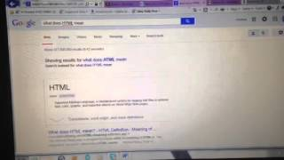 What does html mean Mp3