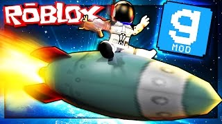 Roblox Adventures - BUILD A SPACE ROCKET IN ROBLOX! (Roblox Garry