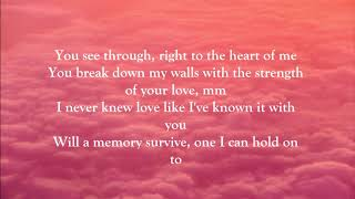 Whitney Houston - I Have Nothing (LYRICS)