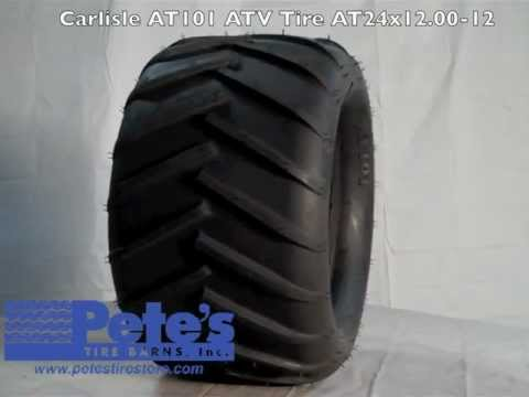 Carlisle At101 Lawn Tractor Tire At24x12 00 12
