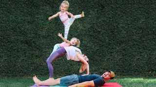 FAMILY FLEXIBILITY CHALLENGE!!!