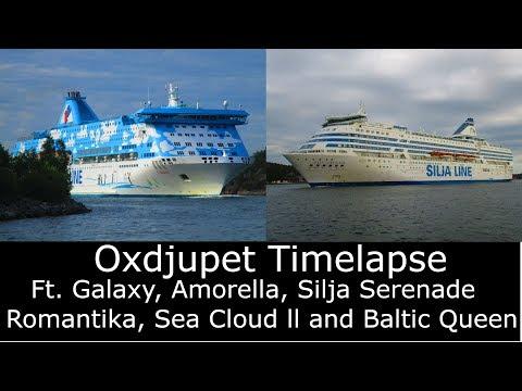 Stockholm oxdjupet timelapse + Photos | HD