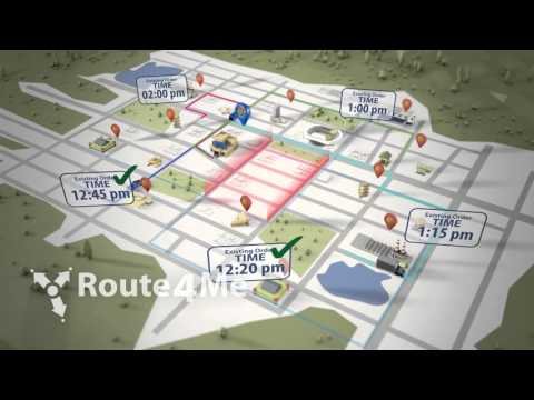 Routing Software - Single Depot, Multiple Driver, Avoidance Zones