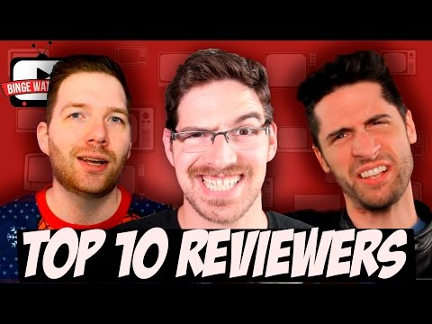 My Top 10 Favorite TV/Movie Review Channels