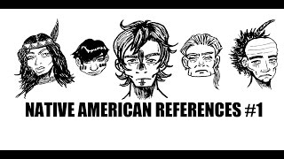 How to Draw (manga/anime style) Native Americans