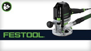 Festool Of 1400 Plunge Router - Basic Setup And Configuration