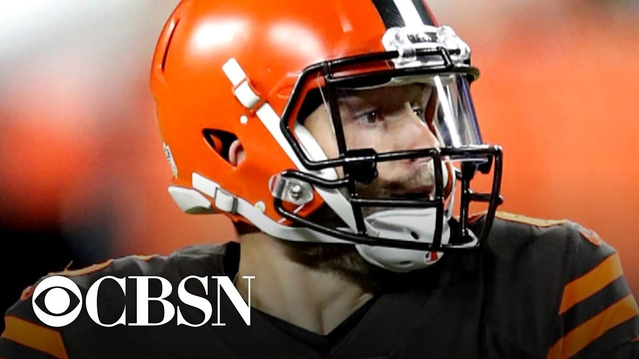 Rookie QB Baker Mayfield helps Browns break winless streak