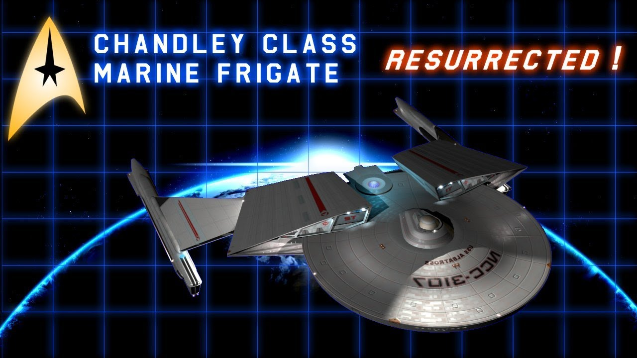 Starfleet's First Marine Frigate - Animated & Resurrected!