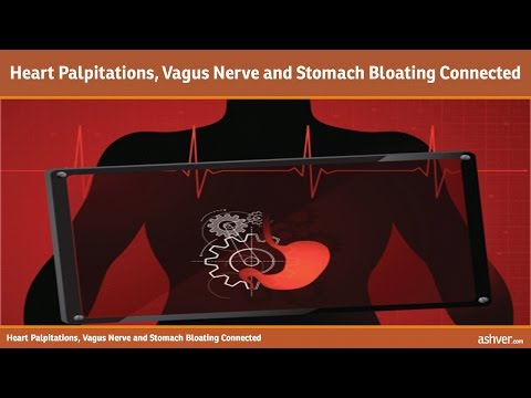 Heart Palpitations, Vagus Nerve and Stomach Bloating Connected