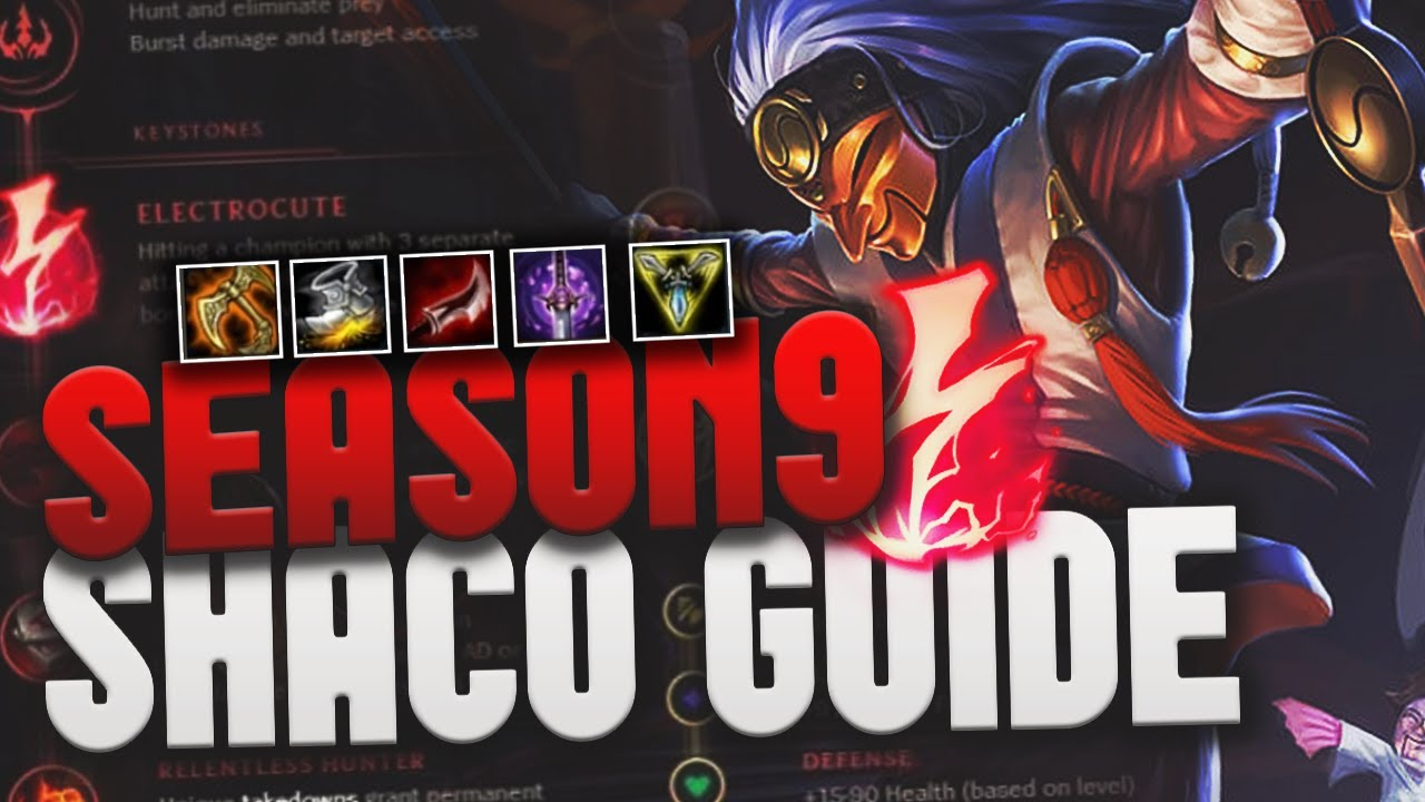 Shaco Build S7: SHACO GUIDE For 9.7 AS QUICK AS POSSIBLE (Runes, Items