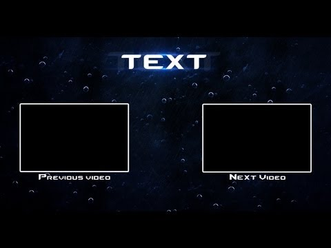 Youtube outro template raingfx youtube for Blank outro template