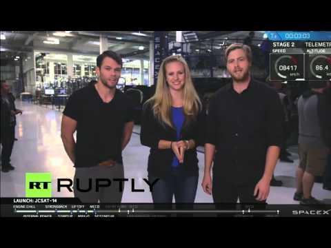 LIVE: SpaceX rocket launches JCSAT satellite
