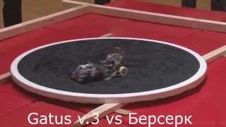Чемпионат России по Робо-сумо - 2014. Финал