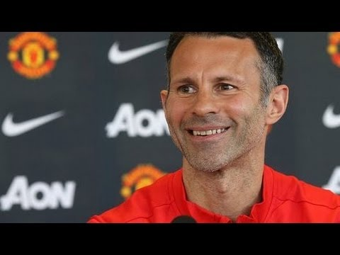 Manchester United - Ryan Giggs Full Of Laughs In New Role
