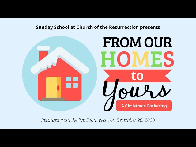 Sunday School Christmas Gathering