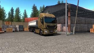 Euro Truck Simulator 2 (ETS 2) Leipzig - Magdeburg (Yeni Almanya - New Germany) IVECO