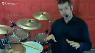 Baixar Aula de bateria ao vivo com Fábio Schneider