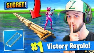 NEW BUILDING *SECRET* in Fortnite: Battle Royale! (MUST SEE)