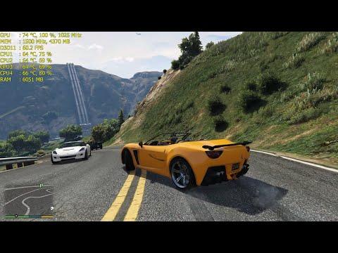GTA V - AMD R9 390 / 1440p Gameplay