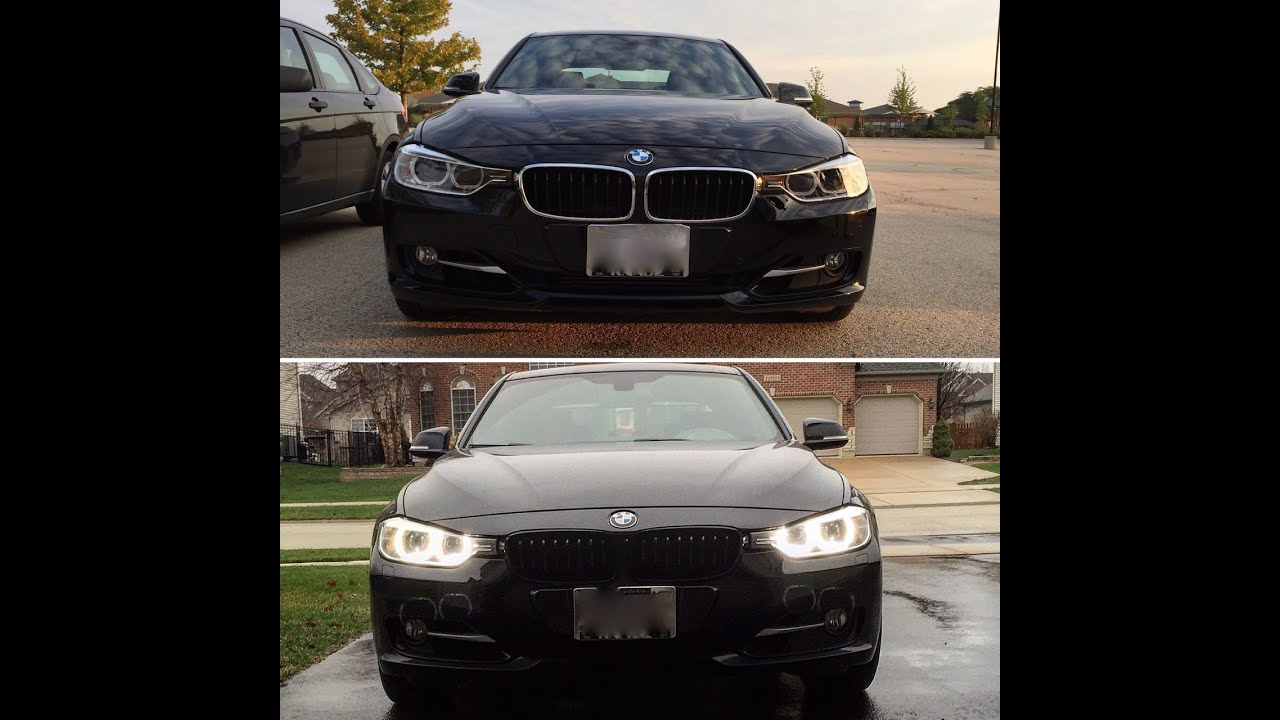 Bmw F30 Black Kidney Grill Install Becoming Vader Bv15 Youtube