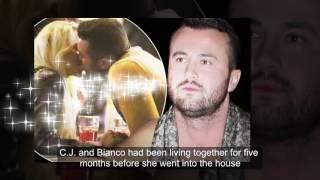 CJ Meeks spotted snogging Bianca Gascoigne lookalike on romantic date