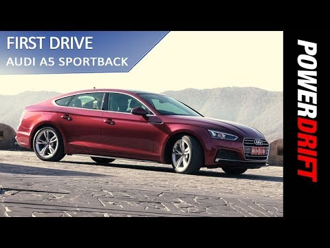 Audi A5 Sportback : First Impressions : PowerDrift