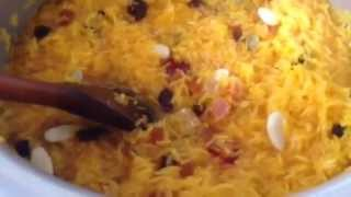 This is how to make zarda.