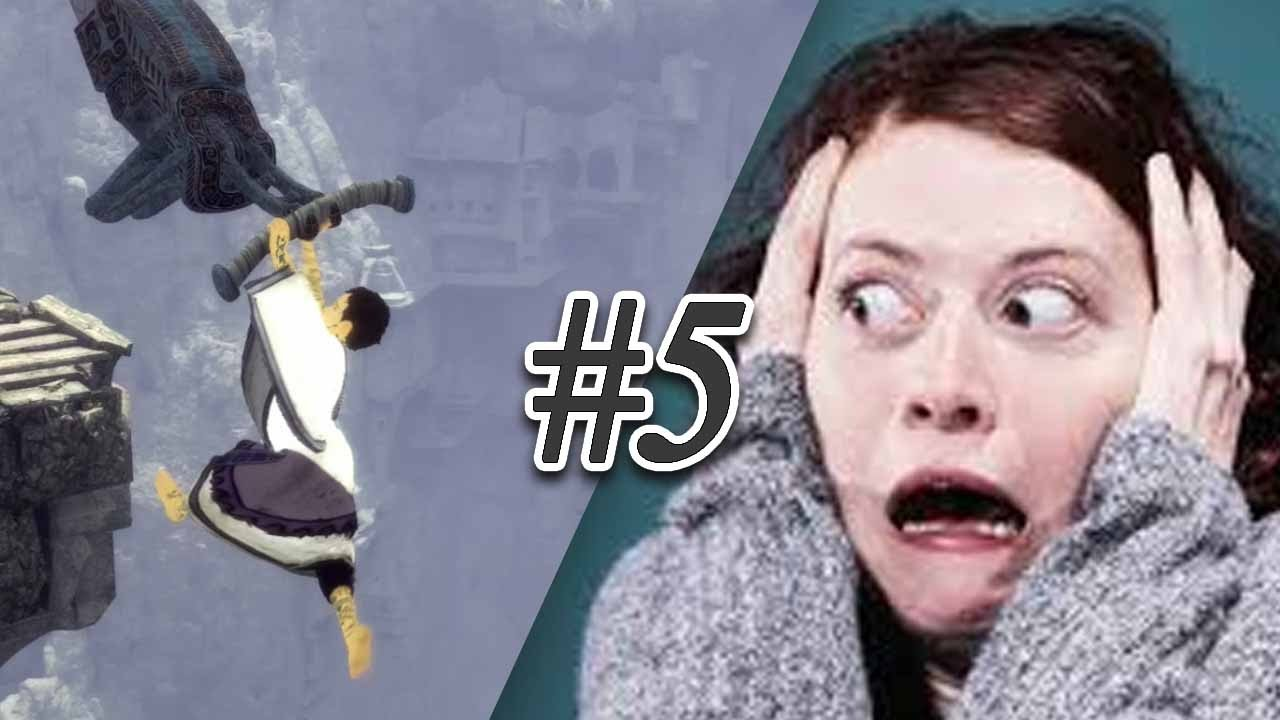 WILL HE FALL? - The Last Guardian - Part 5 - YouTube