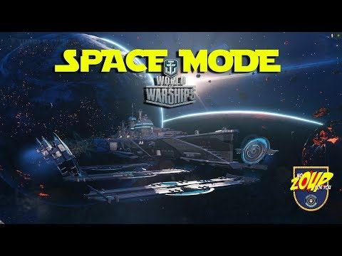 World of Warships Space Mode April Fools