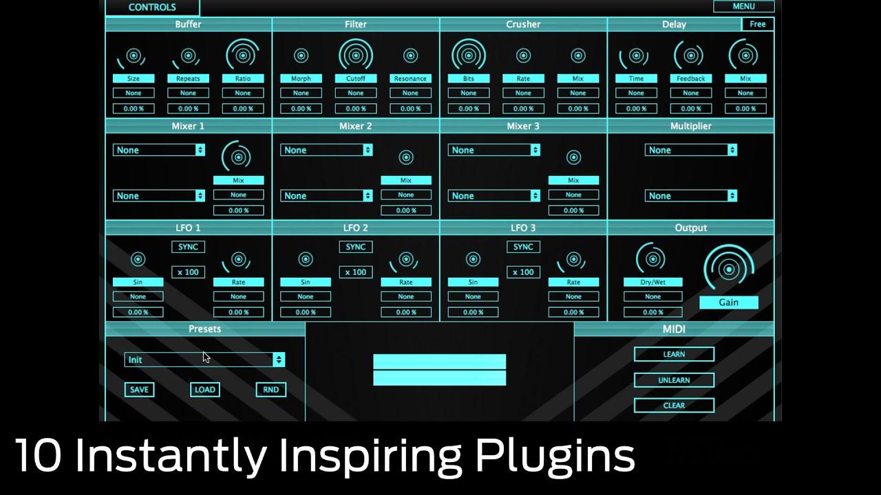 10 instantly inspiring VST/AU plugins   MusicRadar