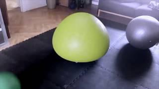 Bouncy ball in living room