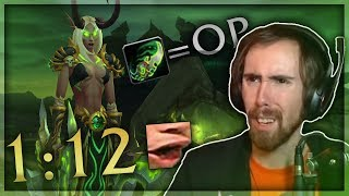 Asmongold Reacts to a DH Spreedrunning Through Dungeons at 230% Base Movement Speed