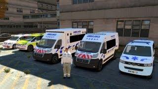 GTA IV Mods French : AMBULANCES & SAMU-SMUR