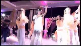 an amazing choreographed wedding dance said mhamad