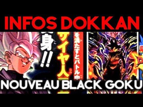 INFOS DOKKAN BATTLE : un Black Goku qui se transforme !