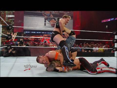 WWE Champion John Cena vs. Edge vs. Chris Jericho