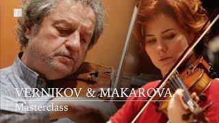 Masterclass amb Pavel Vernikov & Svetlana Makarova - Cicle Liceu Cambra