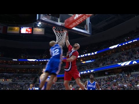 Marcin Gortat Throws Down A MONSTER Hammer | 01.14.17