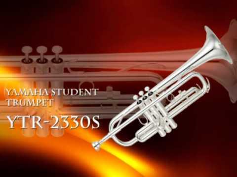 YAMAHA YTR 2330S STANDARD Bb STUDENT TRUMPET,  459