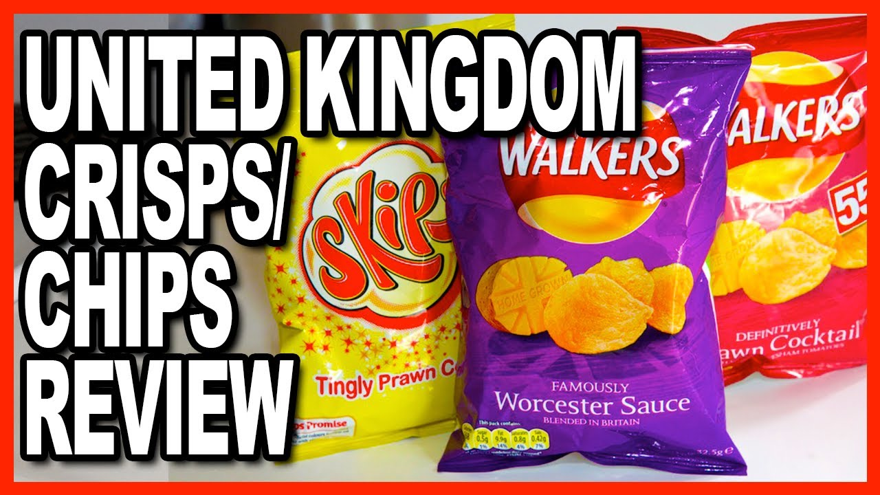 Prawn Flavoured Crisps/Chips ★ Walker & Skips from the UK Review